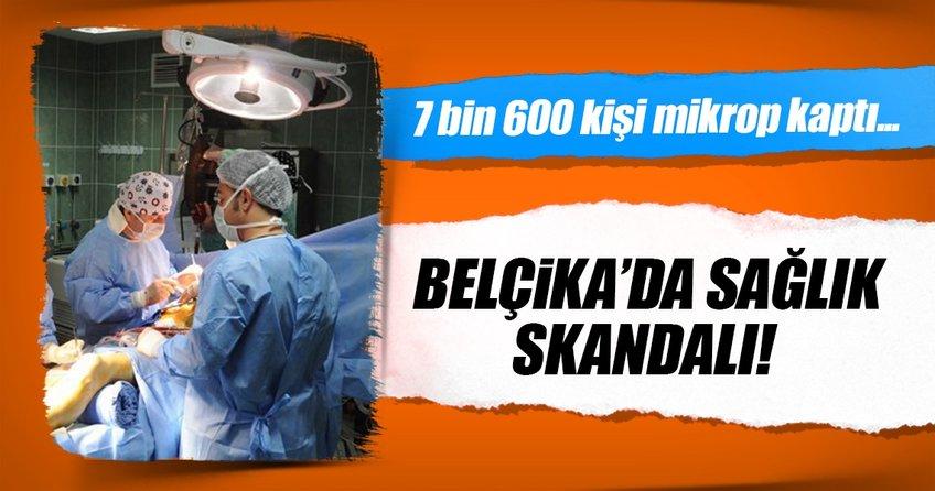 Belçikada 7 bin 600 kişi hastane mikrobu kaptı