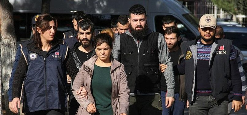 TURKISH POLICE ARREST HUNDREDS OF PKK/YPG SUSPECTS