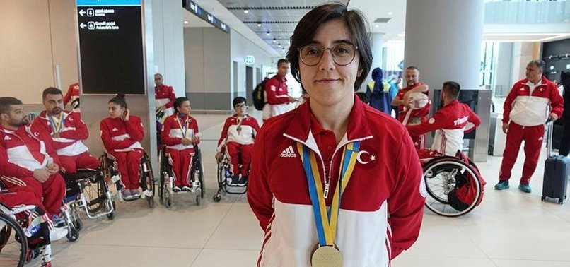 TURKISH ATHLETES BAG MEDALS IN PARALYMPIC SPORTS
