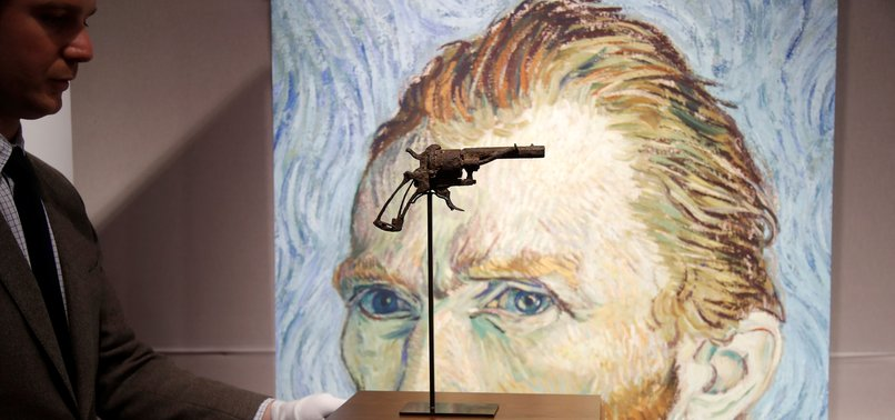 GUN VAN GOGH KILLED HIMSELF WITH SELLS FOR 162,000 EUROS