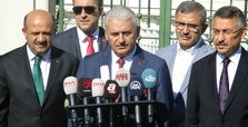 Banner of Öcalan in Raqqah harms alliance with US, Turkish PM says