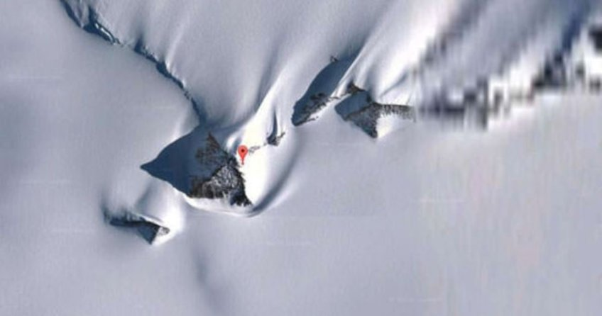 Google Earth gizemli piramitin peşinde!