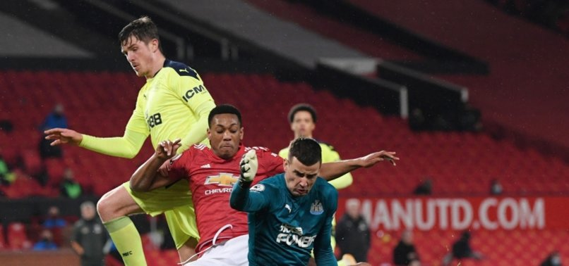 SLOPPY UNITED BEATS NEWCASTLE 3-1, STAYS IN 2ND PLACE IN EPL