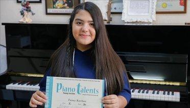 Küçük Piyanistin Gururlandıran Başarısı