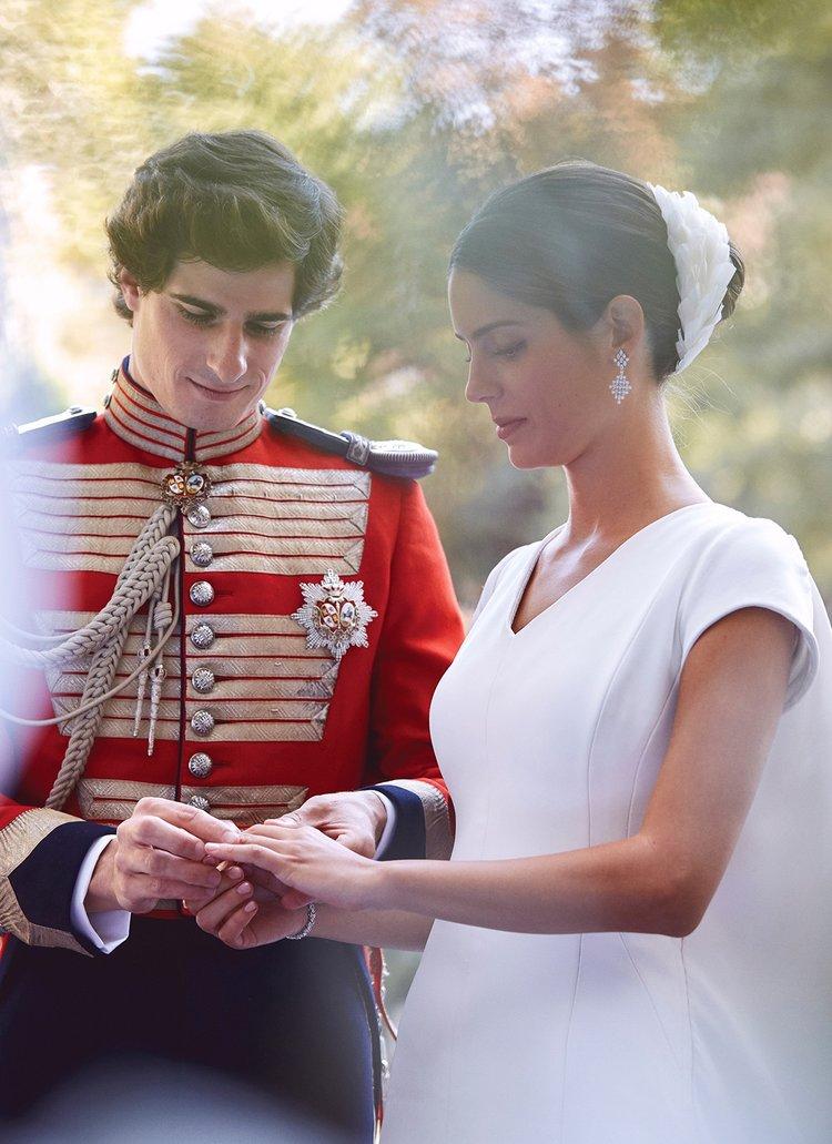 Avrupa sosyetesini buluşturan düğün