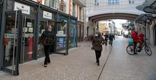 French COVID-19 infection rate slows further