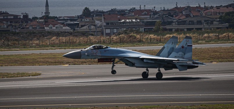 RUSSIAN JETS TAKE TO ISTANBUL SKIES AHEAD OF TEKNOFEST