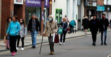 UK records another rise in COVID infections