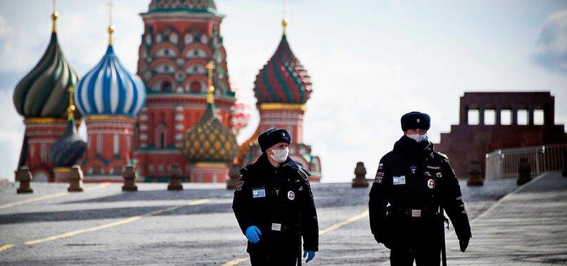 RUSSIA REPORTS 9,035 NEW CORONAVIRUS INFECTIONS