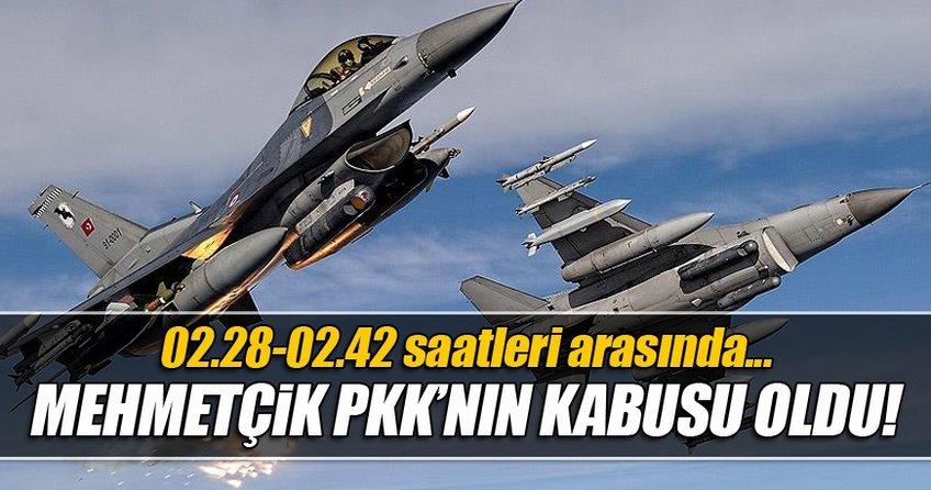 PKK hedefleri imha edildi!