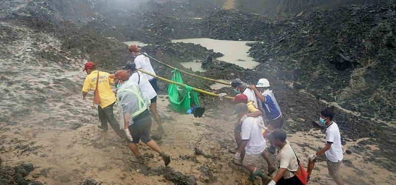 DEATH TOLL HITS 166 IN MYANMAR JADE MINE LANDSLIDE AS SEARCH GOES ON