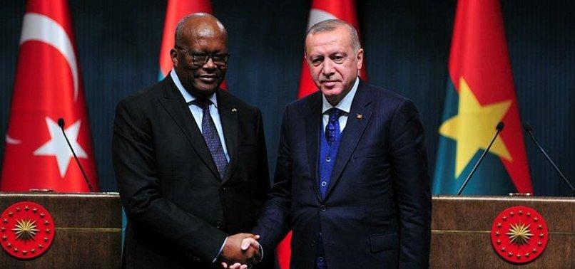 ANKARAS DIPLOMATIC, ECONOMIC TIES EXTEND INTO WEST AFRICA WITH BURKINO FASO