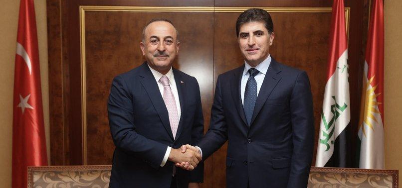 TURKISH FM ÇAVUŞOĞLU IN OATH-TAKING OF KRG PRESIDENT