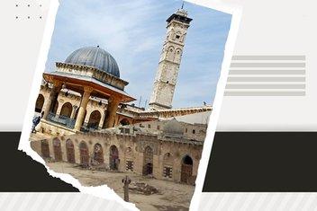 Savaş kurbanı Emevi şaheseri Halep Ulu Camii