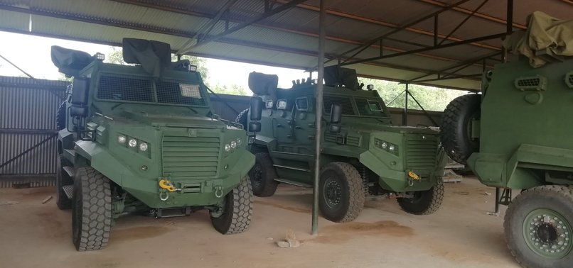 TURKEYS ARMORED VEHICLES MAKE INROADS IN AFRICA