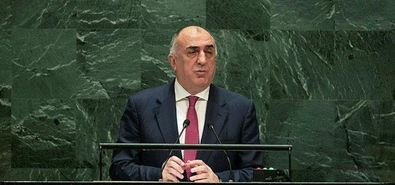 AZERBAIJANI TOP DIPLOMAT CALLS ON ARMENIA TO FULFILL INTERNATIONAL OBLIGATIONS