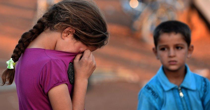 Göçmen çocukları yoksulluk vuruyor