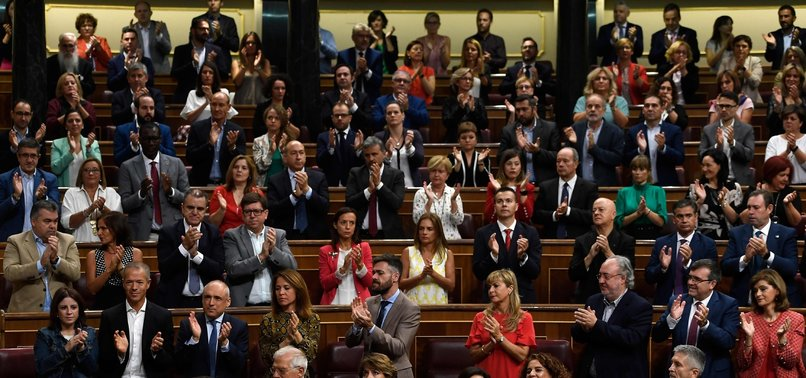 SPANISH PARLIAMENT TO DISSOLVE TO TRIGGER ELECTIONS