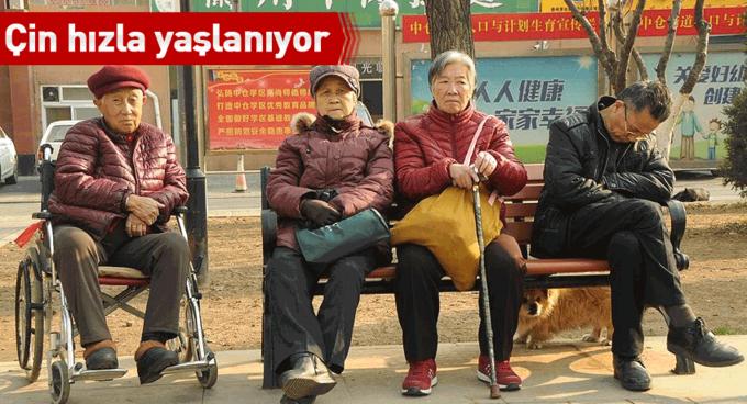 Çin hızla yaşlanıyor