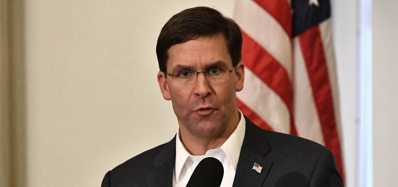 US DID NOT SIGN UP TO DEFEND PKK/YPG: DEFENSE SECRETARY