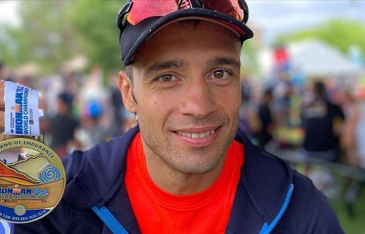 Milli triatlet Bahadır Tama, ABD'de Ironman 70.3 Dünya Şampiyonası'nda 7. olarak Türkiye'ye tarihinin en iyi derecesini getirdi.