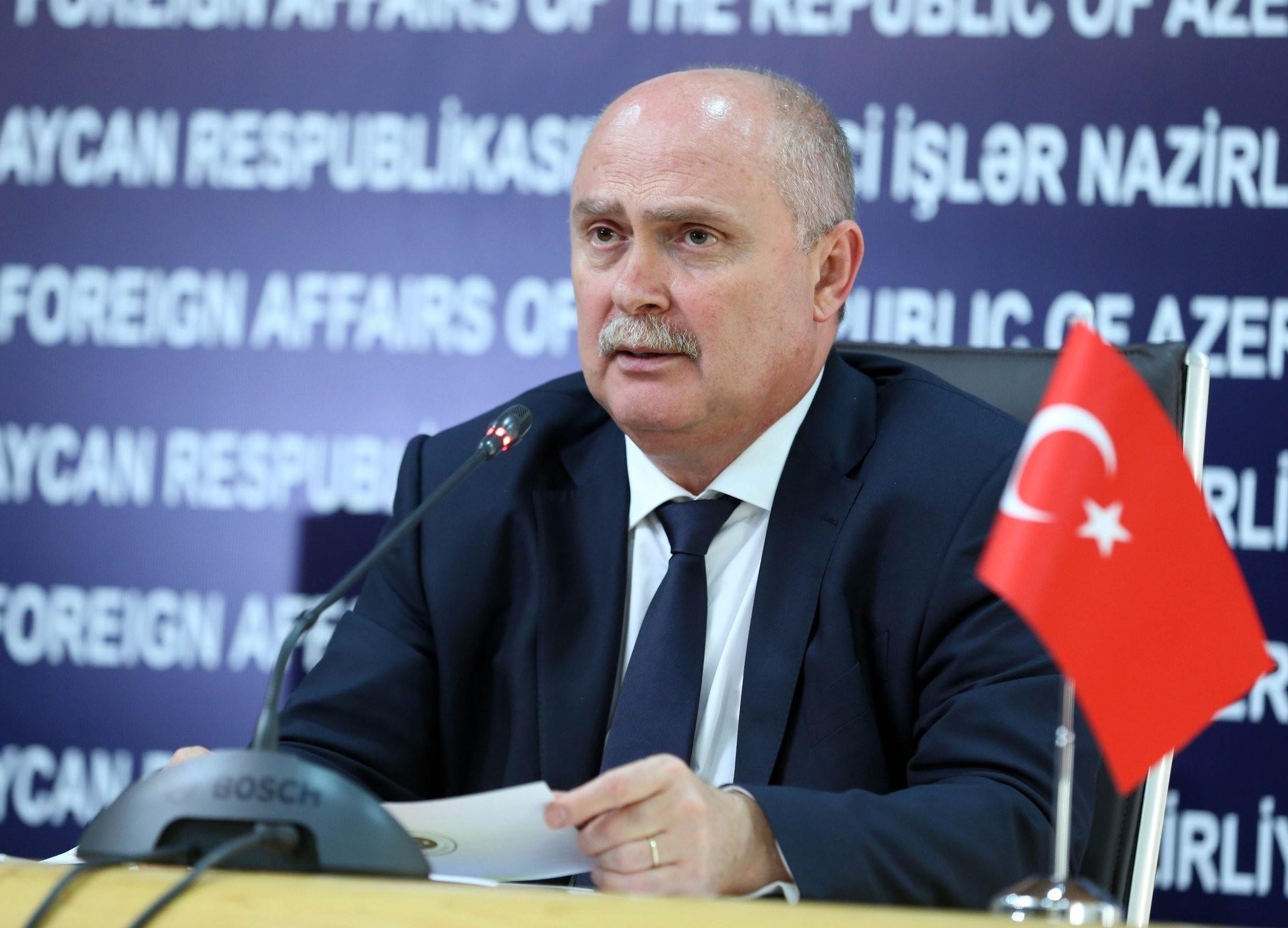 Feridun Sinirliou011flu, Undersecretary of the Ministry of Foreign Affairs  AA photo