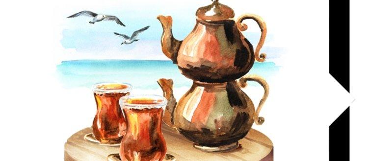 Hayatın en güzel demlerinde yanımızda olan çayın...