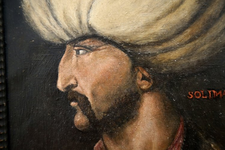 İNGİLTERE'DE KANUNİ SULTAN SÜLEYMAN'IN PORTRESİ 350 BİN STERLİNE SATILDI