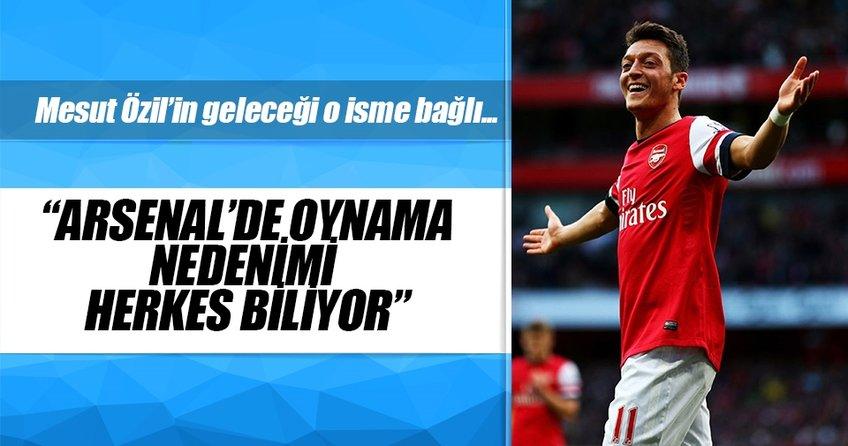Mesut Özilin Arsenaldeki geleceği o isme bağlı
