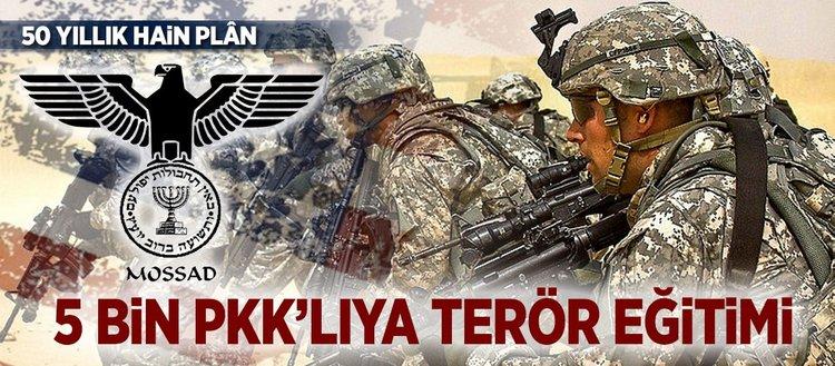 5 bin PKK'lı ve peşmergeye terör eğitimi