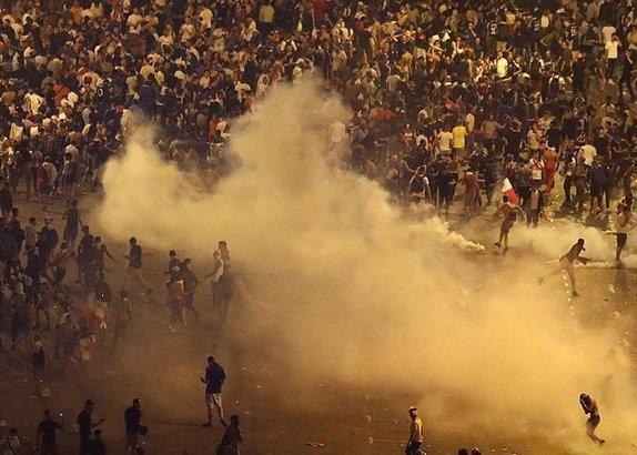 Fransadaki şampiyonluk kutlamalarında 2 kişi öldü