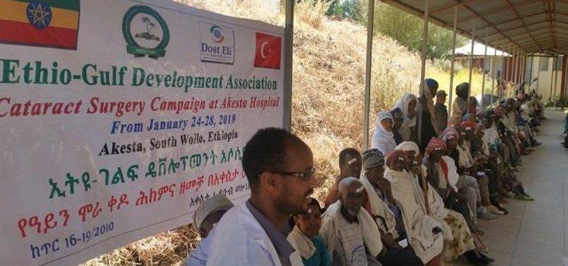 TURKISH MEDICAL TEAM CONDUCTS EYE SURGERIES IN ETHIOPIA