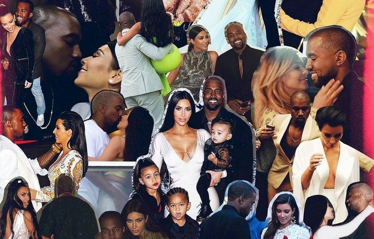 Bir süredir Kanye West ile ayrılacakları konuşulan ünlü yıldız, iddialara bir fotoğrafla yanıt verdi.