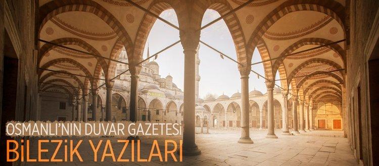 Osmanlı'nın duvar gazetesi
