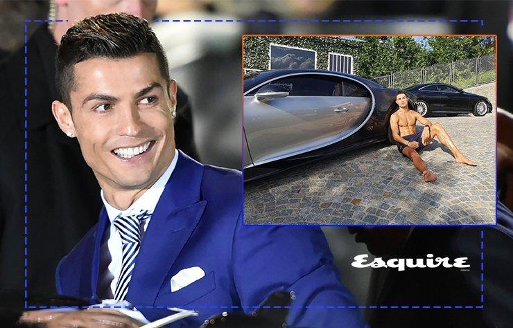Cristiano Ronaldo dünyanın en pahalı arabasını aldı