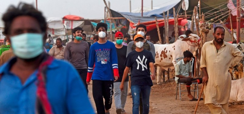 PAKISTAN LIFTS VIRUS RESTRICTIONS AS CASES DROP