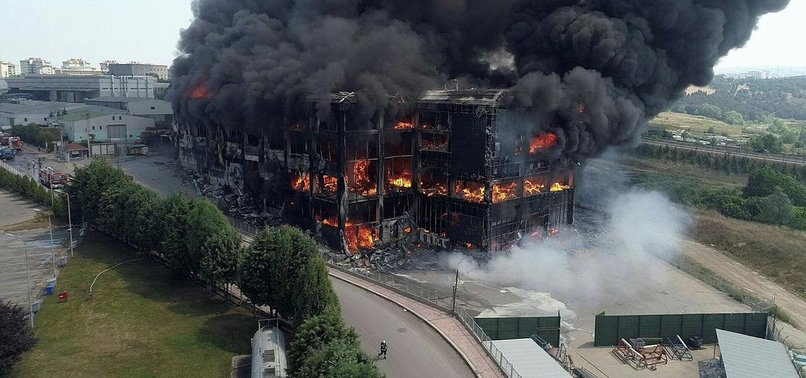 FACTORY FIRE IN TURKEY'S KOCAELI KILLS 5 WORKERS, INJURES 5 OTHERS