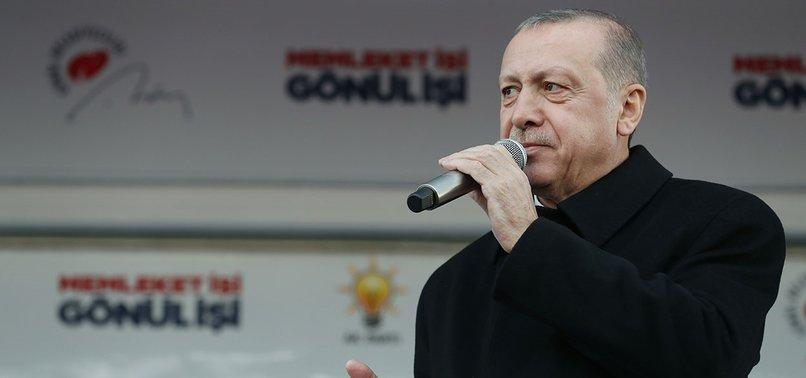 TURKEY TO CHASE UP ALL TERROR GROUPS: PRESIDENT ERDOĞAN