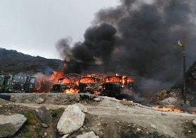 Çin'den Hindistan'a roket saldırı : 158 ölü