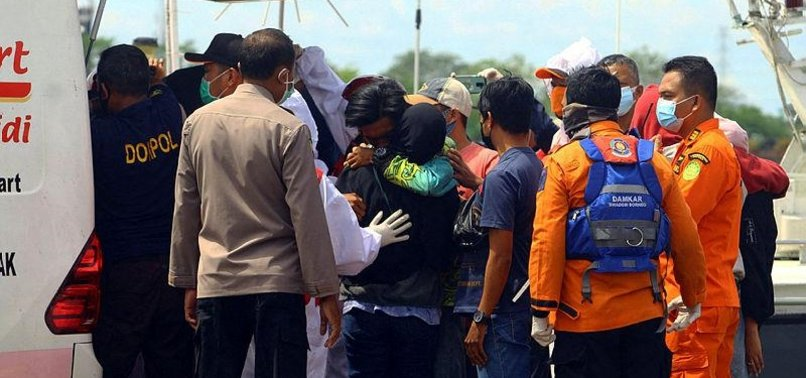 DEATH TOLL RISES TO 24 AFTER BOATS SINK OFF INDONESIAN COAST