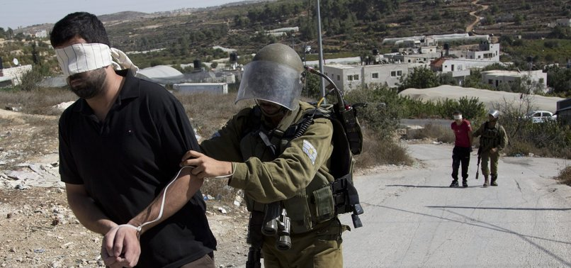 ISRAEL DETAINS 8 PALESTINIANS IN WEST BANK RAIDS
