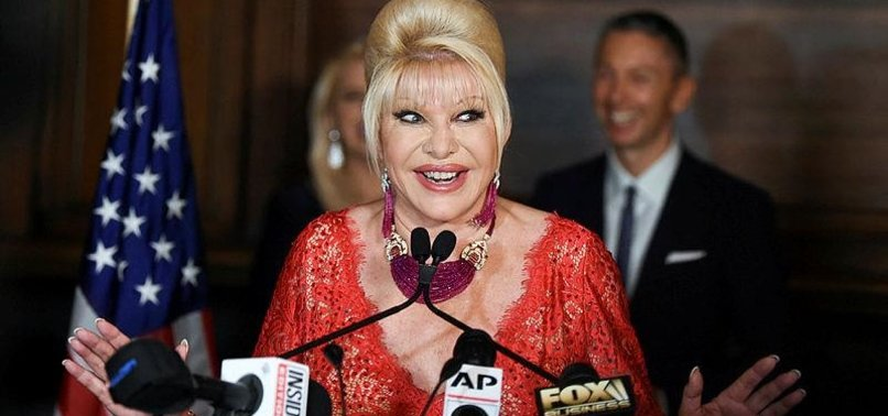 IVANA TRUMP PROMOTES ITALIAN WEIGHT-LOSS DIET SYSTEM