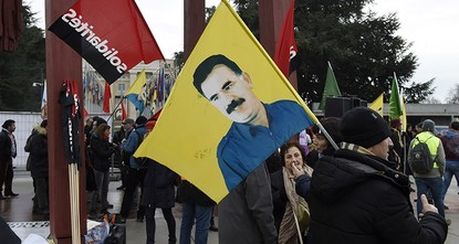 pHundreds of PKK supporters organized a rally Thursday in front of the Palace of Nations, the United Nations headquarters, in the Swiss city of Geneva./p