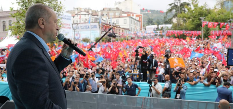 TURKEY SHOWS RESOLUTE STANCE IN EASTERN MEDITERRANEAN: ERDOĞAN
