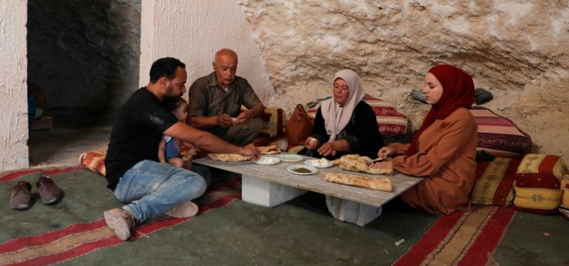 PALESTINIAN FAMILY IN CAVE HOME FACES ISRAELI EVICTION
