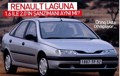 Renault Laguna 1.6 ile 2.0'ın şanzımanı aynı mı?