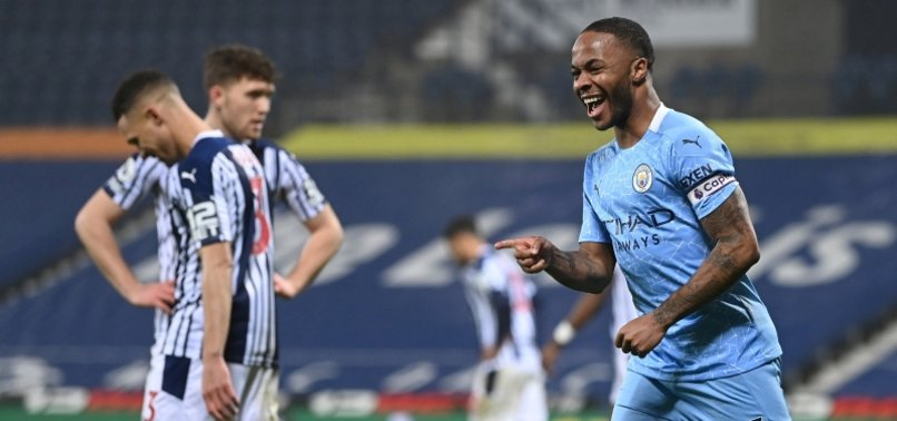 RAMPANT MAN CITY CRUSH WEST BROM TO RETURN TO THE TOP