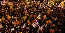 Thousands take to streets to call for Netanyahu's resignation