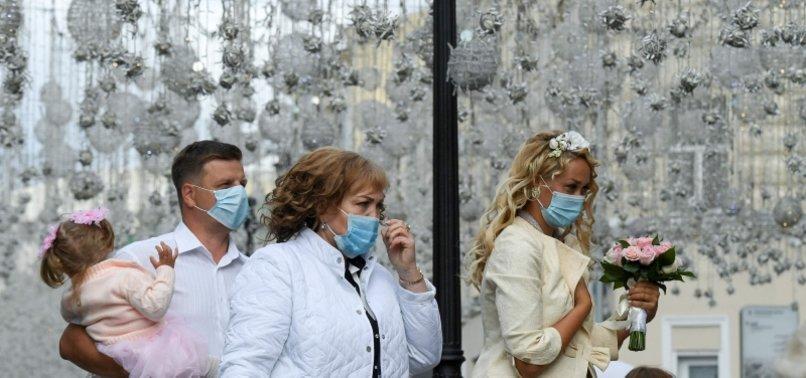 RUSSIA REPORTS MORE THAN 5,000 NEW CORONAVIRUS CASES