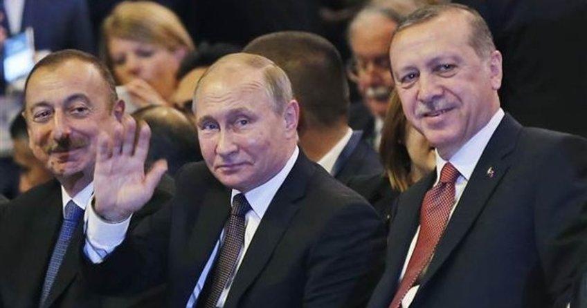 Putin ile Erdoğan salona birlikte girdi